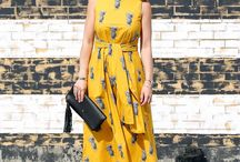 pineapple dresses