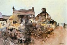 John Blockley watercolour