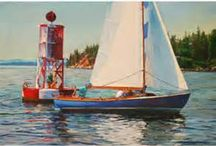Castine Art / Some of the most beautiful artwork can be found Castine, Maine.