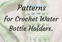 crochet water bottle bahs