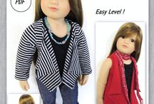 Slim 18 inch Dolls / by SuzyMStudio
