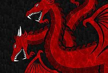 Targaryen / Designs showing support for the Mother of Dragons, Daenerys Targaryen.