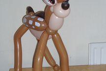 palloncini personaggi Bambi