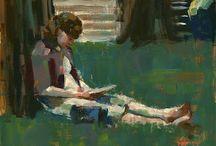 lees een boek / tijd voor een boek