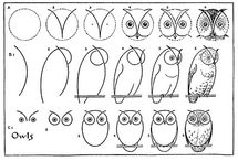 Owl / Drawing