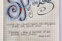 Bible Study- Art Journaling / by Gina Ward