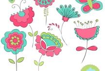 Flores doodle