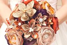 Bouquets de papel