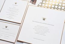 MINE | O2A Invitations / by Carolyn Kach