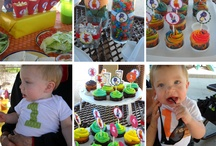 Massimos 1st birthday party theme
