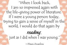Book Quotes / Discover your love of literature @ Seymour Library! Quotes from books or about books and reading.