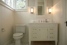 Cottage Bathroom Ideas / Upgrading old bathrooms ...  / by Joey Randall