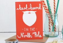Beards and Baubles / Festive gift ideas for men and women. Christmas home decor inspiration.
