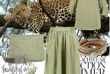 Styl safari - Safari outfits