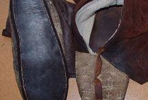 Унты и обувь индейцев