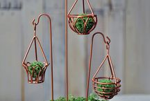 Mini kerti dekorok