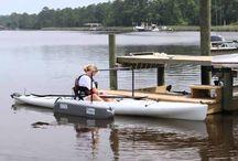 Portable Kayak Dock - Kayak launcher