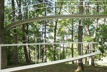 Tree canopy walks and trail design
