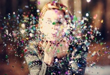 Glitter in the Air / Always been a glitter girl~there's just something fun and magical about it! / by Mary-Ellen