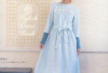 Japanese sewing / Japanilaisia mekkoja