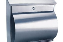 Silver Mailboxes - Stainless Steel / This is our range of Silver Stainless Steel Mailboxes/Postboxes.  All of these models are from Rottner and are secured by a quality Key Lock supplied with two keys.  They are all made from High Quality Steel and are weather resistant and rustproof.  All our Rottner Mailboxes are suitable for wall fixing.  All products listed here are available from www.littlesafe.co.uk/shop