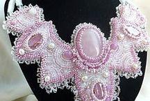 příprava na barokní náhrdelník.. / příprava a pokus o barokní náhrdelník