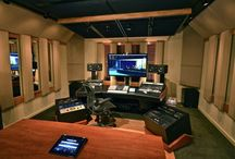 Ballin' Recording Studios / The coolest looking recording studios, mixing rooms, and tracking environments out there!