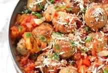 Meatballs / by Cheryl Cullen-Fowler