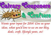 !_Calvary Couponers Blog Posts / Coupons, Deals, Crafts, and Homemaking posts from CalvaryCouponers.com / by Helen Bush from Calvary Couponers, Make it Frugal & Shades of Safhire