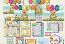 'Some Bunny Loves You' Missionary Easter Care Package / A Fabulous place to find Fun & Spiritual Care Package Ideas and Instant Downloads to send your Missionary! Easy & Helpful How to's including shopping lists and links.