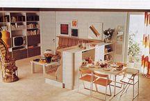 70's furniture + decor
