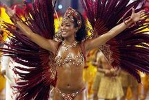 """Samba! / A street festival dance that originated in Brazil, the Samba was introduced to the United States in the late 1920s in a Broadway play called """"Street Carnival."""""""