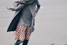 faldas con pantalones look