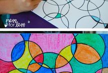 Weekend art projects to enjoy with your kids / Have some extra time on the weekend? Try some of these fun projects with your kids and make new memories.