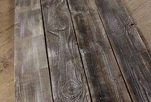 Reclaimed Wood Plank Flooring / Cladding