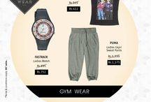 Gym Wear for women / Looking stylish starts at home? Nope, it starts at the gym!