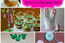 Disney Easter and Springtime / Disney ideas and inspiration for Easter and Spring themed crafts, DIY and recipes