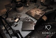 Our life Our love - inside Kobelli Workshop / We design & manufacture Fine Jewelry since 1980 right in the jewelry district in DownTown L.A. very close to Staples Center. / by Kobelli.com