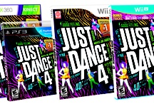 Just Dance 4 / The world's #1 dance game brand is back with Just Dance 4! The latest edition of the record-breaking franchise takes the party to a whole new level of fun, with over 40 all-new hits, the coolest dances and brand new features. Available October 2012. / by Just Dance Game