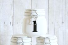 Crafts {Mason Jar Love} / All things Mason Jar!   Mason jar ideas, Mason jar crafts and inspiration.  For more ideas http://blog.thecelebrationshoppe.com
