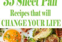 sheet pan recipe