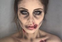 halloween makeup / halloween ideas make up