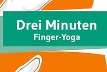Hand- und Fingergymnastik