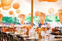 My Orange Wedding / It's about my wedding and colour schemes and decorative ideas!