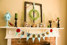 HOME: Mantel to decorate!