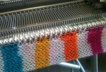 Hints and tips on machine knitting