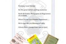 Current & Past Events at Carlow Libraries / Some things happening in Carlow Libraries for February/March 2013