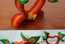 3d origami / Ideas for making things using 3d origami