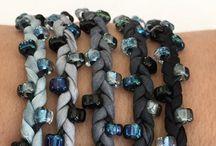 Ribbon Jewelry / Visual Inspiration and Tutorials for using ribbon and fabrics.