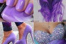A little purple.